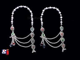 Fancy Silver Payal Designs With Price Modern Design Pair Of Anklet Silver Payal Design