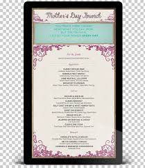 Mother S Day Menu Template Menu Mothers Day Template Buffet Brunch Menu Templates