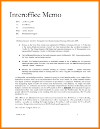 9 Internal Business Memo Format Mla Format