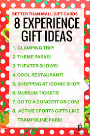 skip the gift cards and give experience gifts instead 8 ideas for adventure gifts for