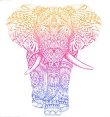 Elephant Pattern Impressive Elephant Pattern Drawing At GetDrawings Free For Personal Use