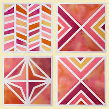 Cool Patterns To Paint Astonishing Best 25 Tape Painting Ideas On Pinterest  Chevron Home Design 12