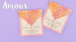 How To Make A Save The Date Card How To Make A Save The Date Card Sizzix Lifestyle