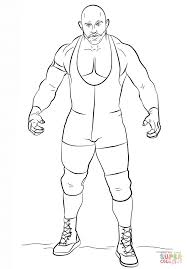 Small Picture WWE Ryback coloring page Free Printable Coloring Pages