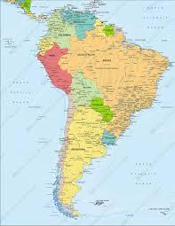 Digital Map South America Political 1280 The World Of Maps Com