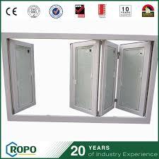 china pvc double glass blinds inside folding window and wood frame window china folding window double glass blinds inside