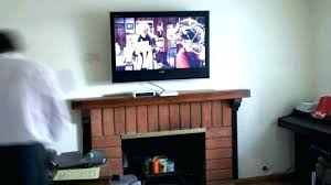 mounting above gas fireplace tv over ideas design flat screen large size of stunning ct mount