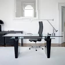modern office table glass top glass home office desk antique brass finish bush aero office desk design interior fantastic
