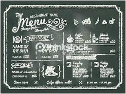 Chalkboard Menu Board Chalkboard Menu Board Boards For Restaurants Artist