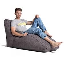 grey avatar bean bag sofa
