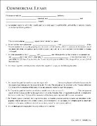 Free Commercial Lease Agreement Forms To Print Printable Sample Commercial Lease Agreement Form Real Estate Forms