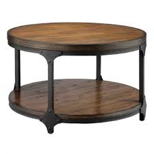 the images collection of industrial style round coffee table of within round coffee table industrial