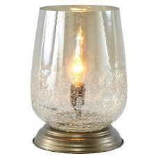 uplight lamp river of goods metallic smoke led glass inch accent table portfolio brushed nickel