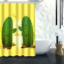 cactus shower curtain custom cactus shower curtain waterproof fabric shower curtain for cactus shower curtain custom