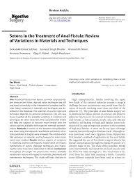 Seton marker for anal fistual