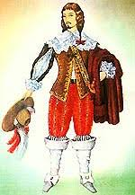 История французского костюма Французская мода век  Французский костюм 17 век