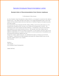 8 Reference Letter Template For Employee Quote Templates