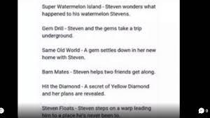 steven universe in too deep episode list steven universe in too deep episode list