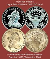 1804 Silver Dollar Value Chart Coin Value Us Fake Silver Dollar Counterfeit 1799 To 1804