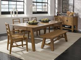 Dining Room  Pleasing Dining Room Table Bench Diy Awful Dining Oak Table Bench