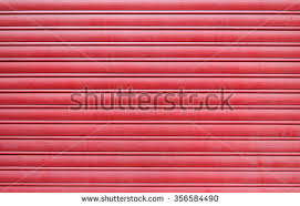 Red Garage Door Texture Stock Photo 356584490 Shutterstock