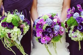 Purple and green wedding colors Wedding Decorations Wedding Chicks Vintage Romantic Purple Green Wedding