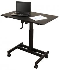 adjustable standing desk crank. Wonderful Standing Single Column Crank Adjustable Stand Up Desk  Throughout Standing A