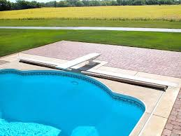automatic inground pool covers recessed track automatic swimming pool covers automatic inground swimming pool covers