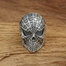 <b>316L Stainless steel</b> Men's Gothic Biker Punk Vintage Ring <b>Spartan</b> ...