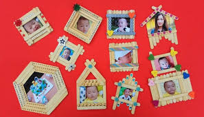 top 10 diy popsicle stick photo frame compilation popsicle stick craft ideas home decor