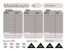 Free Food Tracking Chart Calorie Tracking Chart Free Printable This Michigan Life
