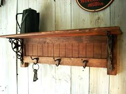 wall mount coat rack ed wall mounted coat rack with shelf plans wall mounted coat rack