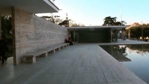 ludwig mies van der rohe barcelona. Architecture: German Pavilion (aka Barcelona Pavilion) By Ludwig Mies Van Der Rohe: \u201c..An Emblematic Rohe