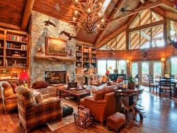 Image of: Cabin Decorating Ideas Style