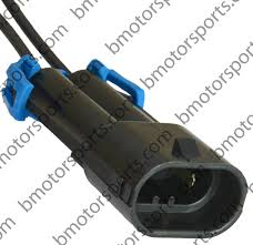 home shop connectors harnesses delphi packard pigtails Delphi Wiring Connectors gm delphi packard 2 way metripack 280 receptacle connector assembly for 9005 9145 delphi wiring harness connectors