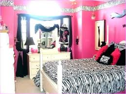 Bedroom Stylish Black And White Zebra Print Curtains Home Decor