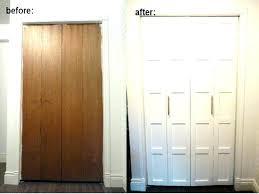 small closet door for spaces medium size of