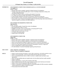 Resumes For Housekeeping Resume In Hospitals Jobs Examples Of
