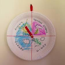 Preschooler Weather Chart Weather Chart Weather Craft