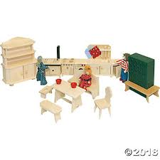 cheap wooden dollhouse furniture. Dollhouse Kitchen Furniture. Wooden Furniture Set E Cheap