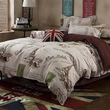 whole eiffel tower bedding sets twin queen full star moon violet duvet cover set bedlinen bedclothes for teens girl 2 bedding sheet sets toddler