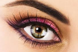 support the overall beauty makeup the eyes can show character and a strong impression so it needs to beautified for that the mascara and eyeliner