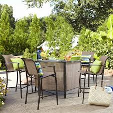 picture 4 of 30 5 piece wicker patio set lovely patio bar set throughout bar garden limited