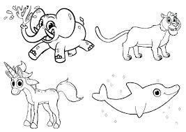 Farm Animal Coloring Sheets Farm Animal Coloring Pages For