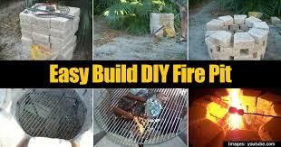 36 easy to build fire pit easy to build fire pit designs home improvement diy network mccmatricschool com