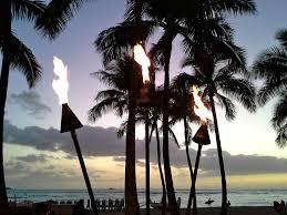 lighting tiki torches. Post Image For The Kuhio Beach Torch Lighting Ceremony Tiki Torches