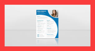 Resume Template International Cv Format In Word Free Download