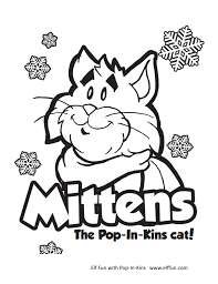 Coloring Pages - Pop-In-Kins