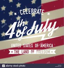 American Flag Website Background Happy 4th Of July Design In Retro Style Fourth Of July