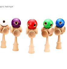 Wooden Ball And Cup Game Impressive ΦΦ32 Holes And 32 Cup Wooden Kendama Professional Traditional Toy